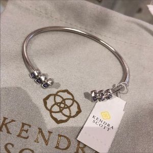 Kendra Scott Amaya Cuff Bracelet - lilac crystal